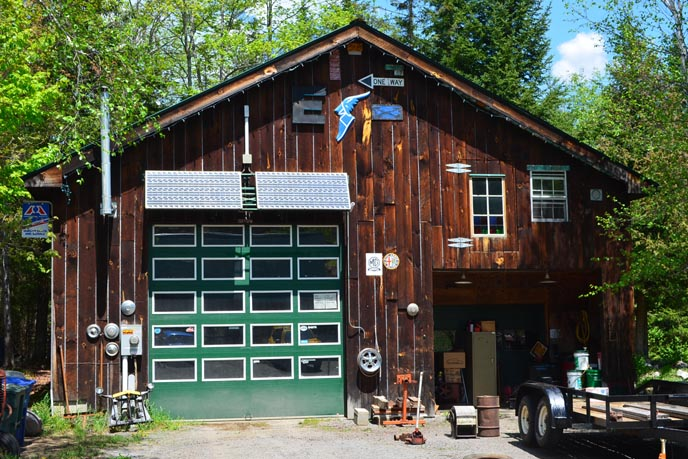 Big E's Garage Sutton Vermont