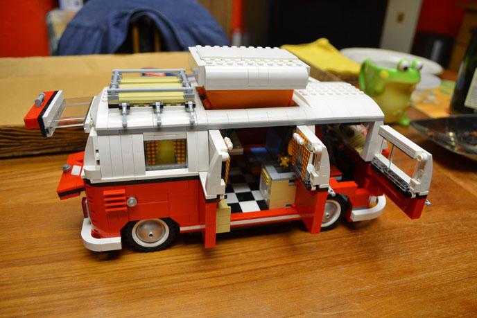 1962 Volkswagen Camper Lego