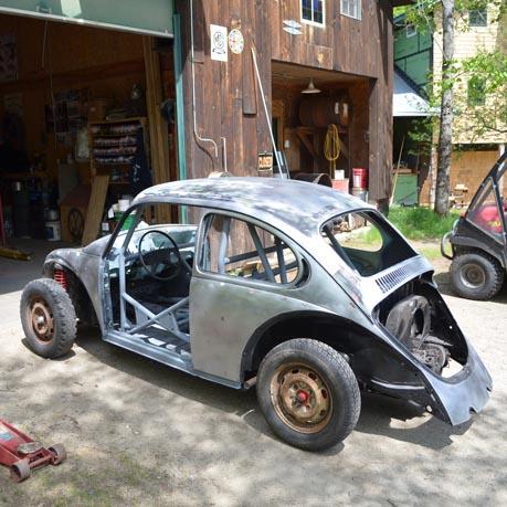 73 Super Beetle Sanded