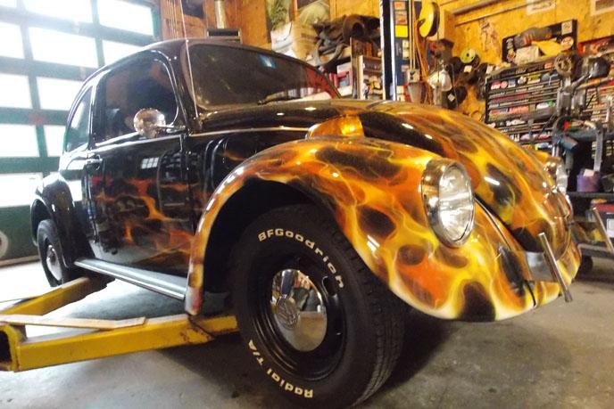 73 VW repair