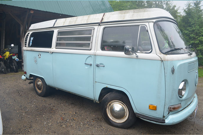 VW Camper repair shop Vermont