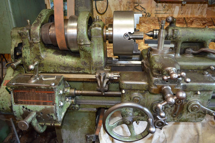 machine shop lathe