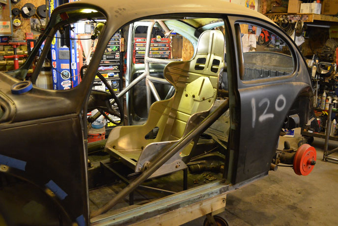 race seat
