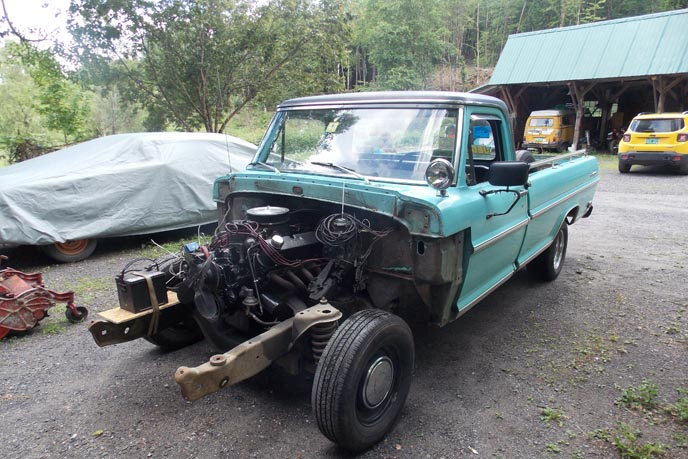 1969 Ford F100 Restoration