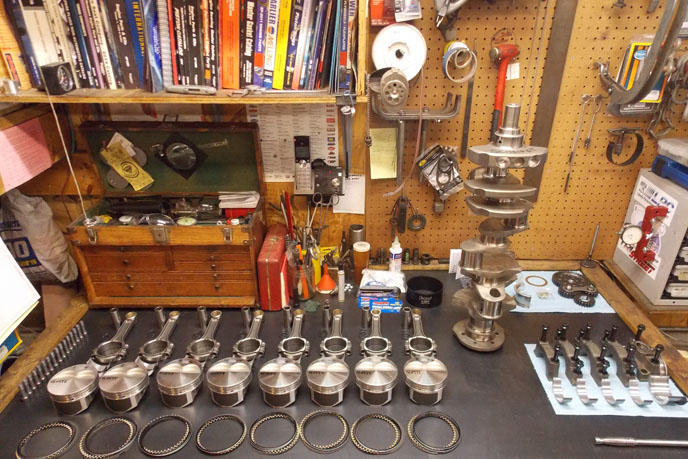 Chevy rotating assembly