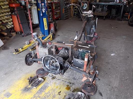 VW Trike Transmission