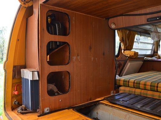 1976 VW Camper Cabinets