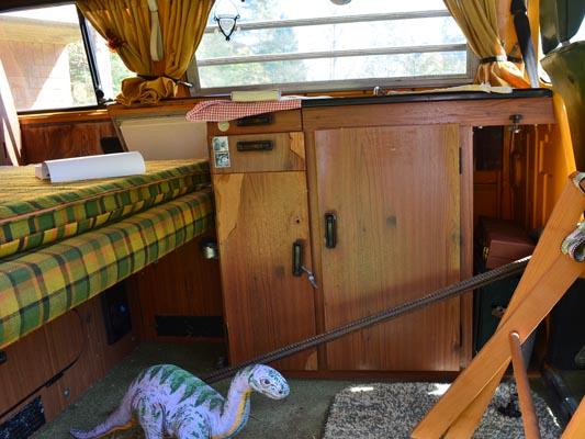 1976 VW Camper Kitchen Cabinets