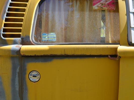 1976 VW Camper door sliding panel