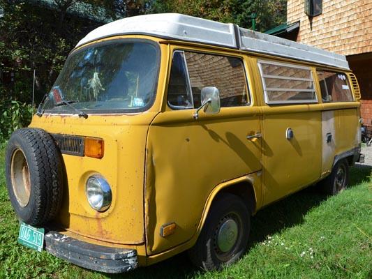 1976 VW Camper drivers door