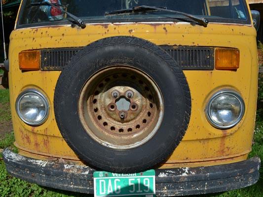 1976 VW Camper front panel