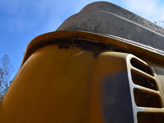 1976 VW Camper rain gutter