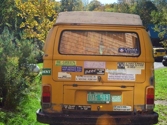 1976 VW Camper rear trunk